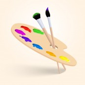 art-color-palette-with-paintbrush-drawing-tools-isolated-on-white-background-vector-illustration_1284-2394